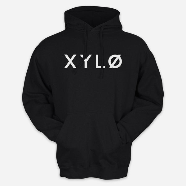 XYLØ Black Pullover Hoodie by XYLØ for sale on hellomerch.com