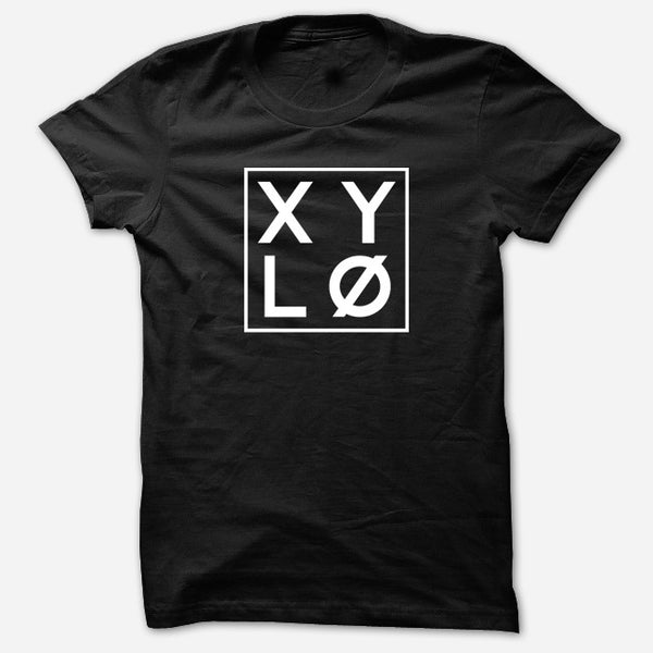 XYLØ Black T-Shirt by XYLØ for sale on hellomerch.com