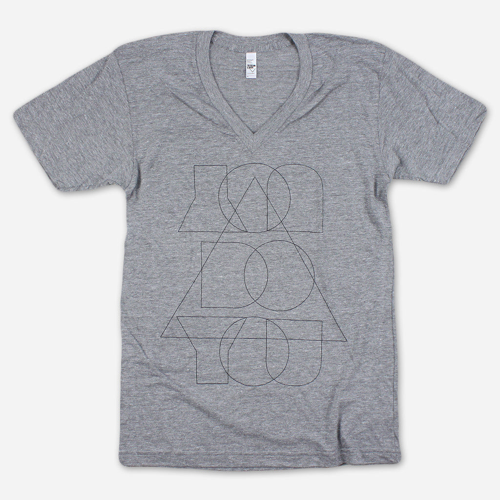 You Do You Athletic Grey Tri-Blend Tee