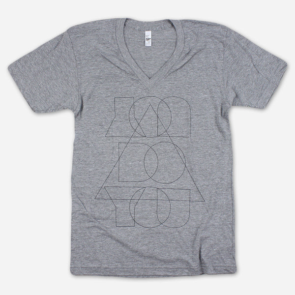You Do You Grey Tri-Blend Tee by Autostraddle for sale on hellomerch.com