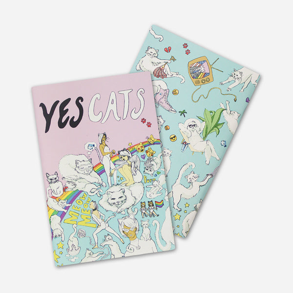 Yes Cats Zine by Autostraddle for sale on hellomerch.com