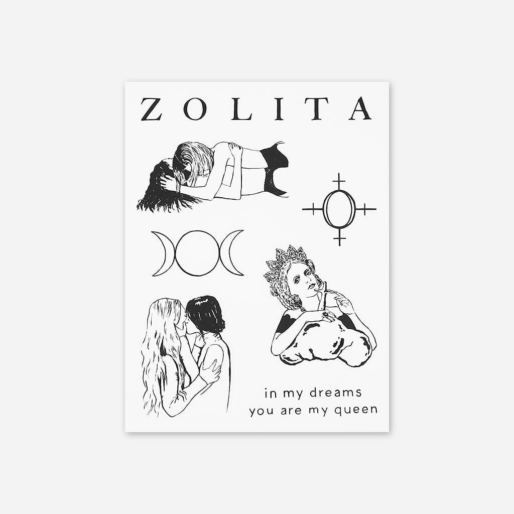 Zolita Sticker Sheet