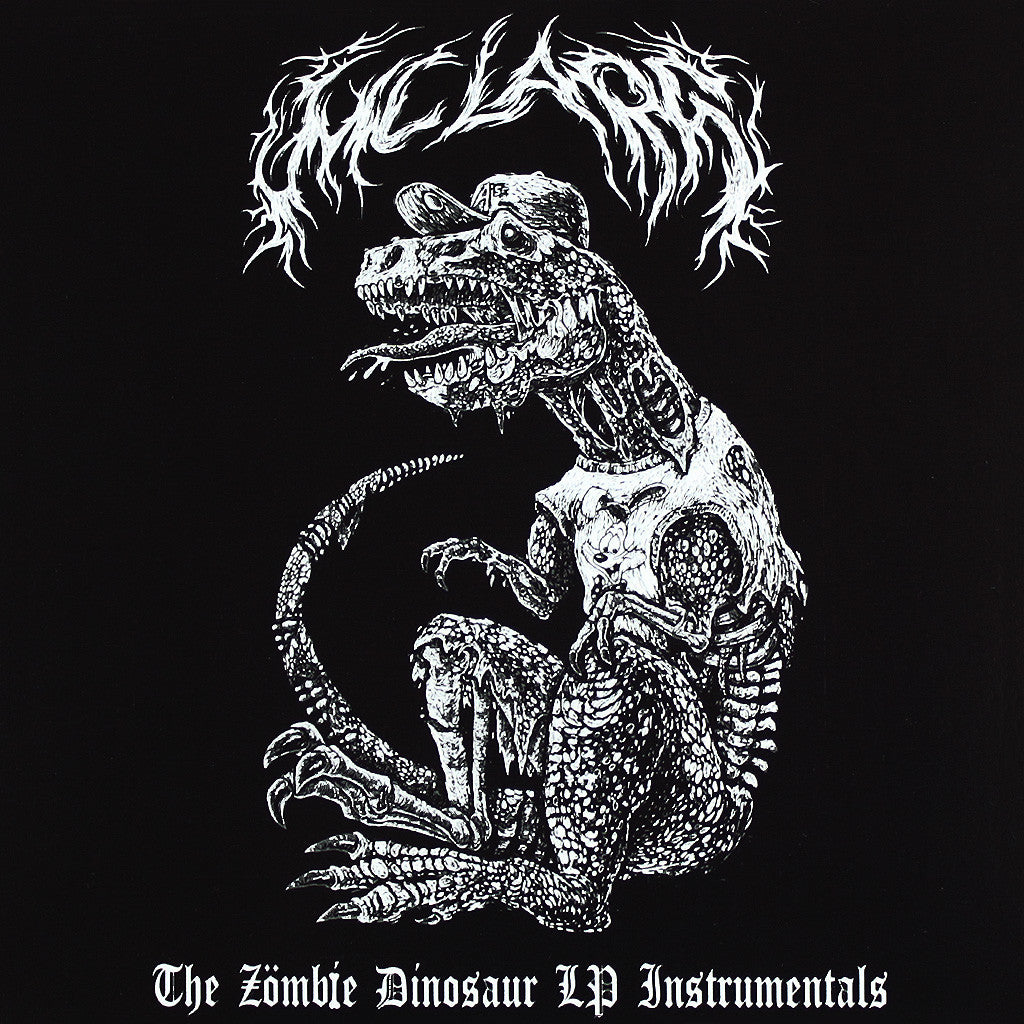 """The Zombie Dinosaur LP Instrumentals"" CD"