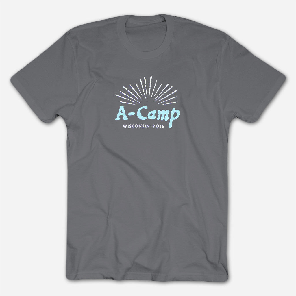 A-Camp 7.5 Asphalt Gray Tee