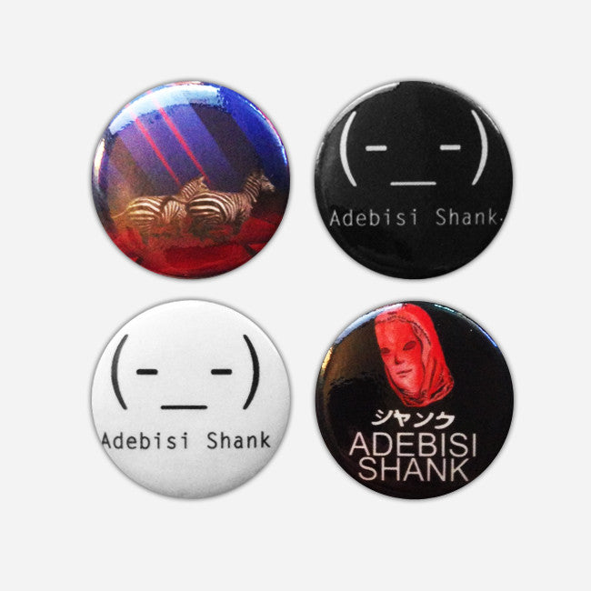 Adebisi Shank 4 Button Pack