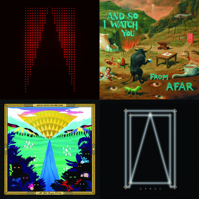 "ASIWYFA Four 3""x3"" Album Cover Magnet Pack"