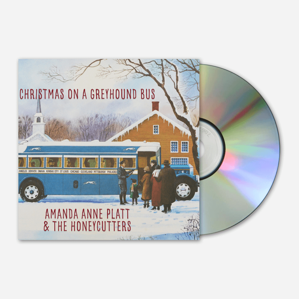 Christmas on a Greyhound Bus EP CD