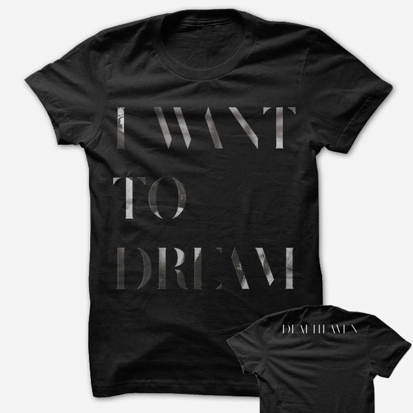 Dreamhouse Black T-Shirt by Deafheaven for sale on hellomerch.com