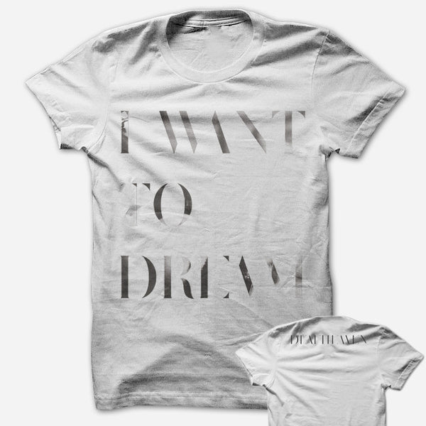 Dreamhouse White T-Shirt by Deafheaven for sale on hellomerch.com
