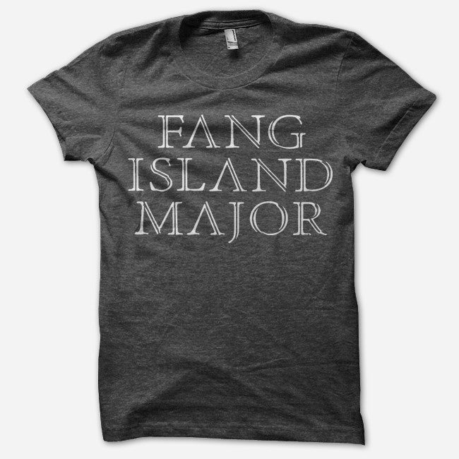 Major Black Tri-Blend - Fang Island - Hello Merch