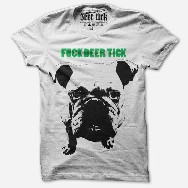 F*** Deer Tick White T-Shirt by Deer Tick for sale on hellomerch.com