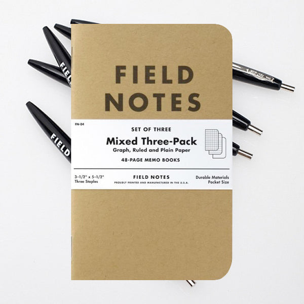 Paper & Pen Bundle by Field Notes for sale on hellomerch.com