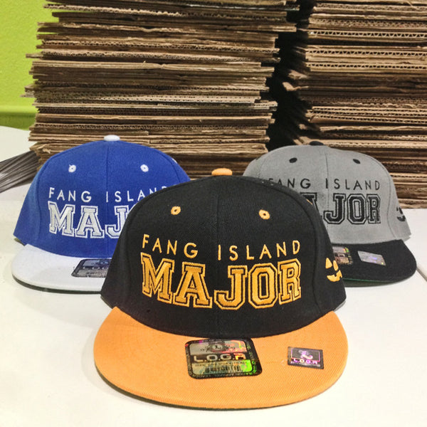 Major Snapback Hat by Fang Island for sale on hellomerch.com