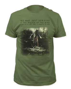 Native Invader Up The Creek Green T-Shirt by Tori Amos for sale on hellomerch.com