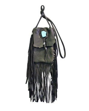 Native Invader Desert Sister Brown Medicine Bag by Tori Amos for sale on hellomerch.com