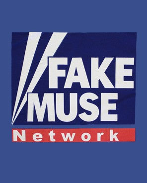 Fake Muse Blue T-Shirt