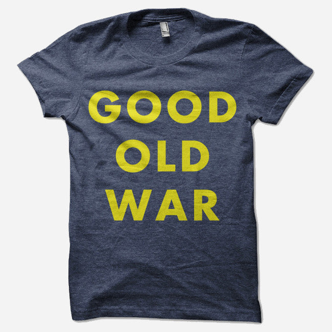 Simple Indigo Tri-Blend - Good Old War - Hello Merch