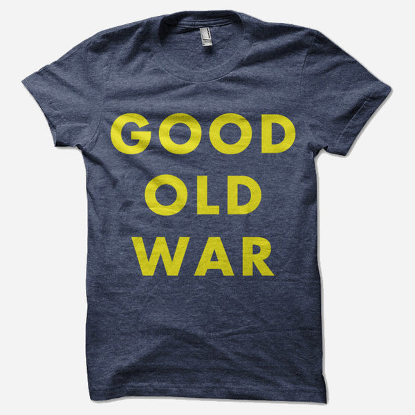 Simple Indigo Tri-Blend by Good Old War for sale on hellomerch.com