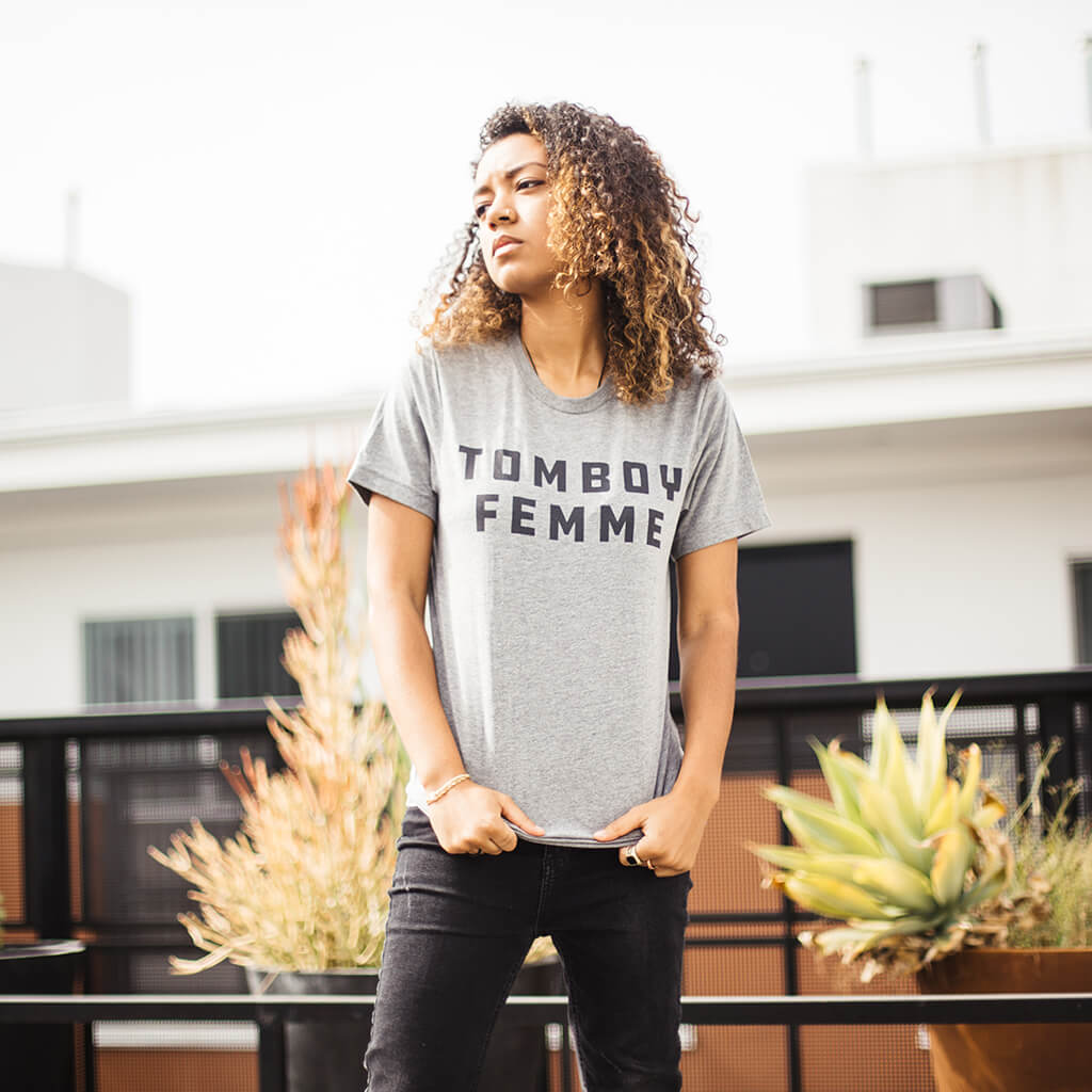 Tomboy Femme Tee - Autostraddle - Hello Merch