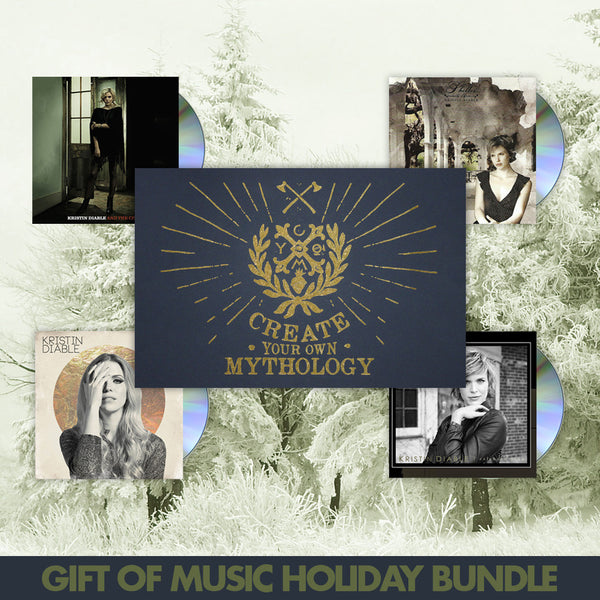 Gift of Music Holiday Bundle by Kristin Diable for sale on hellomerch.com