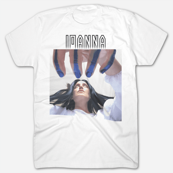 Ioanna White T-Shirt by Ioanna Gika for sale on hellomerch.com