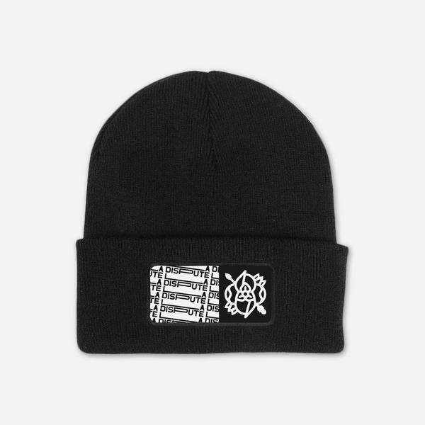 Tile Black Beanie by La Dispute for sale on hellomerch.com