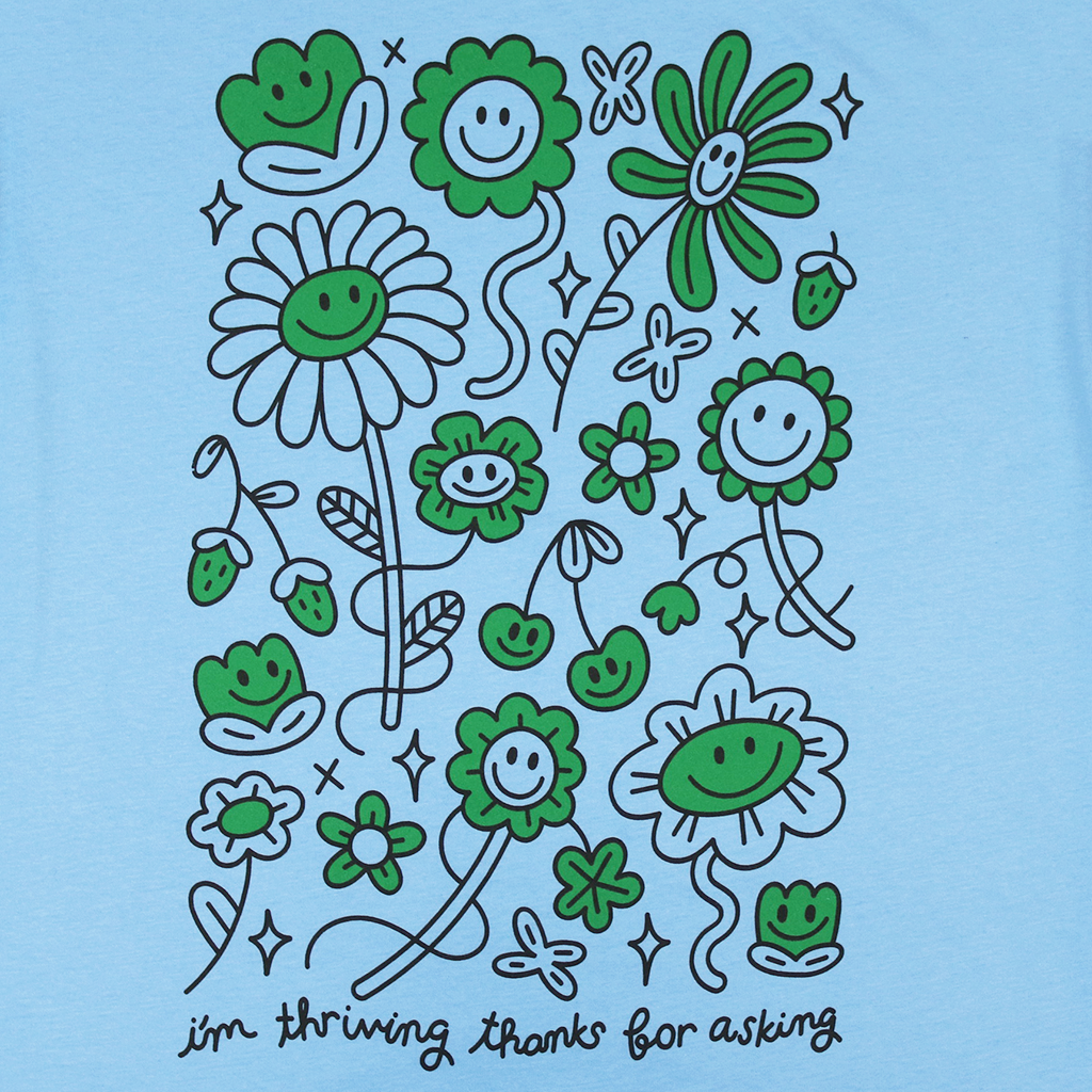 Thriving Ocean Blue T-Shirt