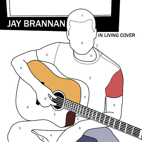 In Living Cover CD by Jay Brannan for sale on hellomerch.com
