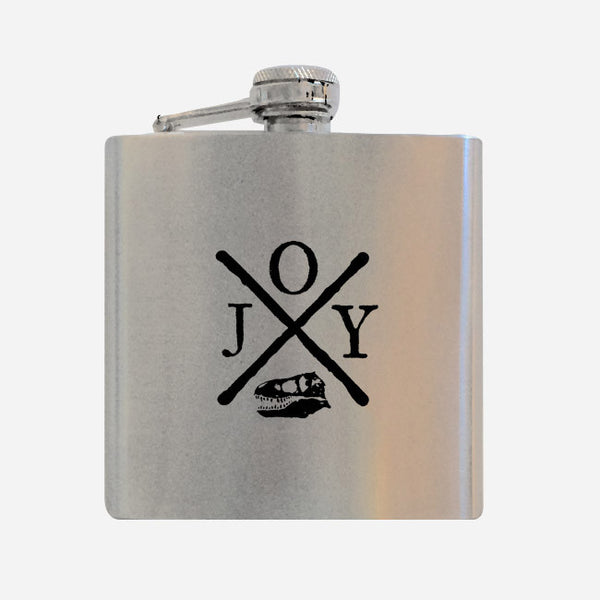 Hardcore Rex Flask by Jenny Owen Youngs for sale on hellomerch.com