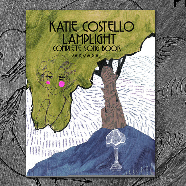 """Lamplight"" Piano + Vocal Sheet Music / Artwork Adventure"