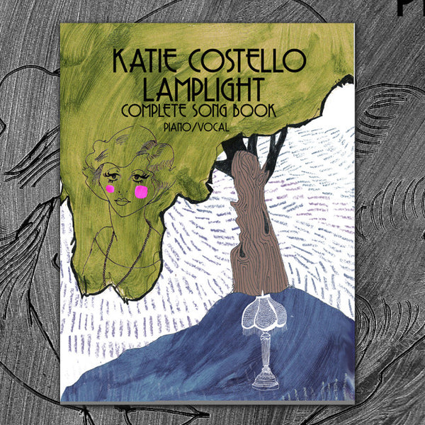 """Lamplight"" Piano + Vocal Sheet Music / Artwork Adventure by Katie Costello for sale on hellomerch.com"