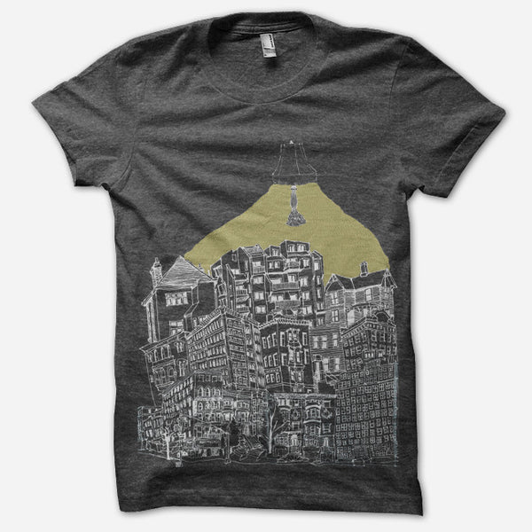 Lamplight T-Shirt by Katie Costello for sale on hellomerch.com