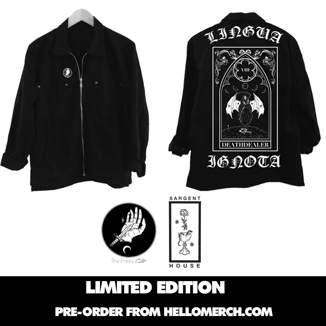 "The Pretty Cult ""Tarot"" Collection Jacket - Lingua Ignota"