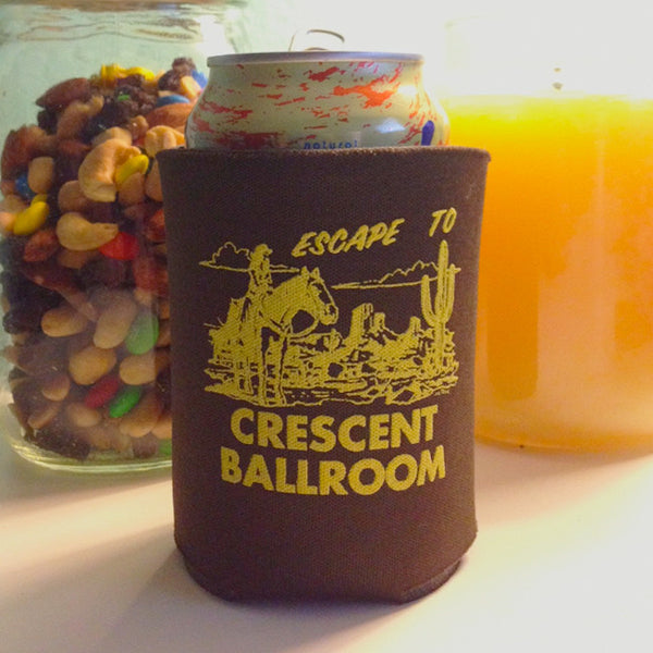 Escape to.. Koozie by Crescent Ballroom for sale on hellomerch.com