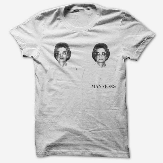 Frances 2 White T-Shirt - Mansions - Hello Merch