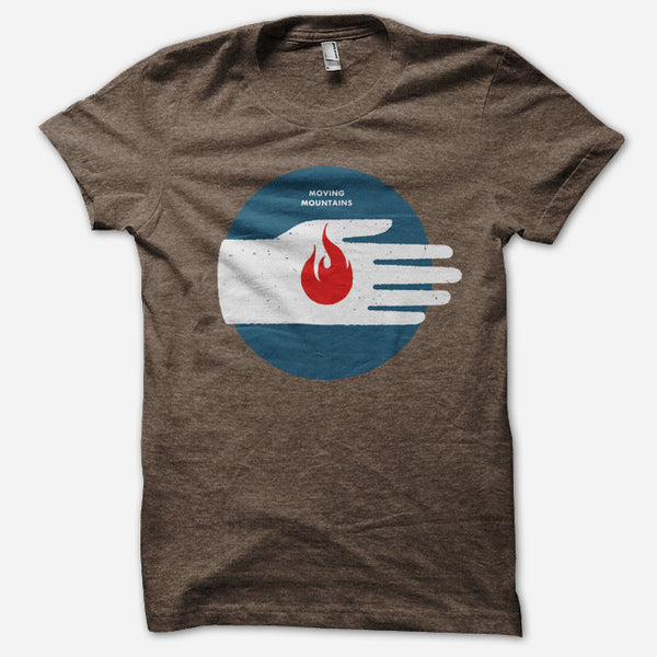 Firehand T-Shirt by Moving Mountains for sale on hellomerch.com
