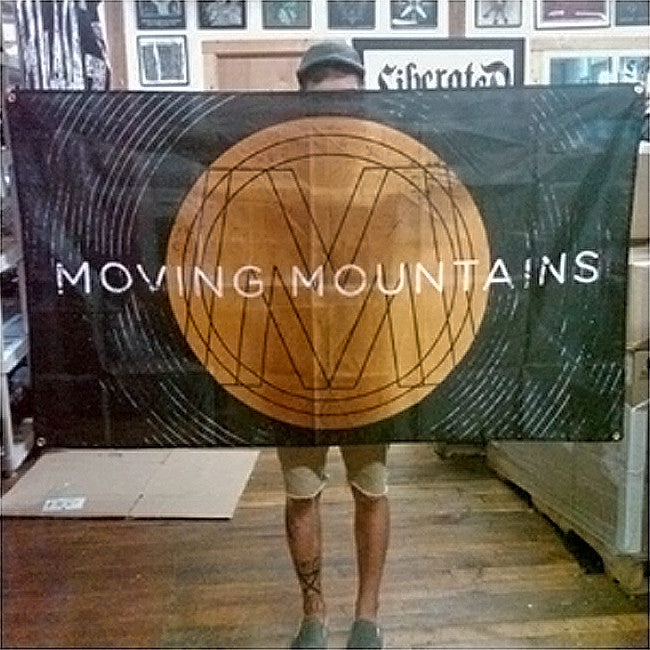 Moving Mountains 3'x5' Banner - Moving Mountains - Hello Merch