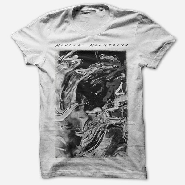 Paint White T-Shirt by Moving Mountains for sale on hellomerch.com