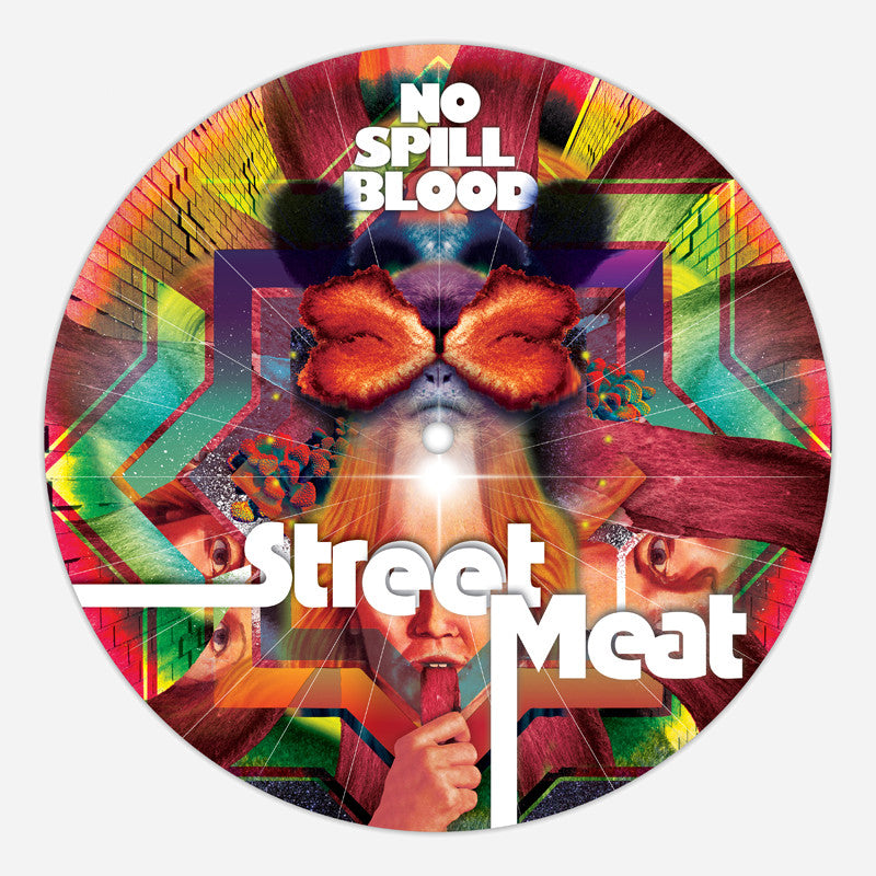 NSB Vinyl Slipmat - No Spill Blood - Hello Merch