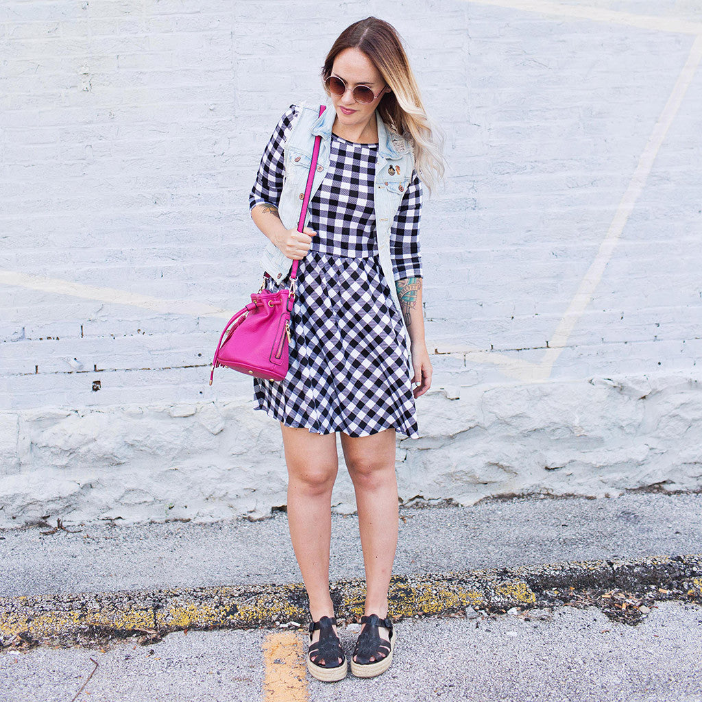 Gingham Dreams Dress