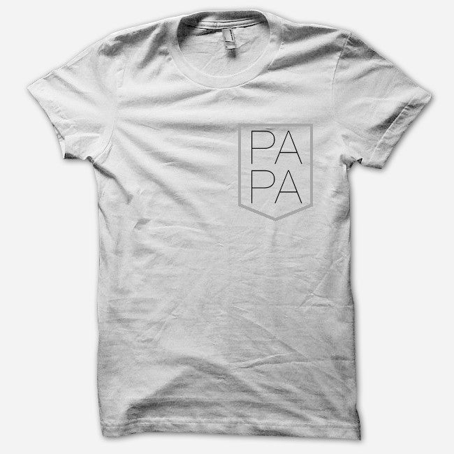 PAPA Pocket T-Shirt - PAPA - Hello Merch