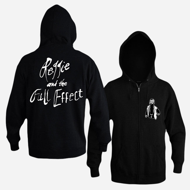 Little Carson Black Zip Hoodie - Reggie and the Full Effect - Hello Merch