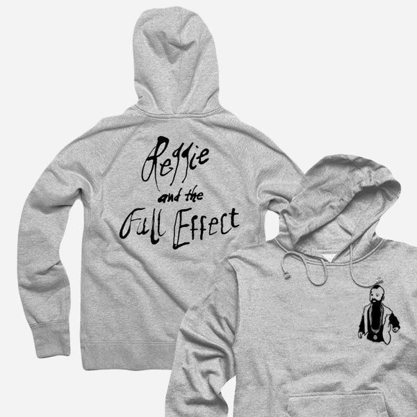 Little Carson Heather Grey Pullover Hoodie by Reggie and the Full Effect for sale on hellomerch.com