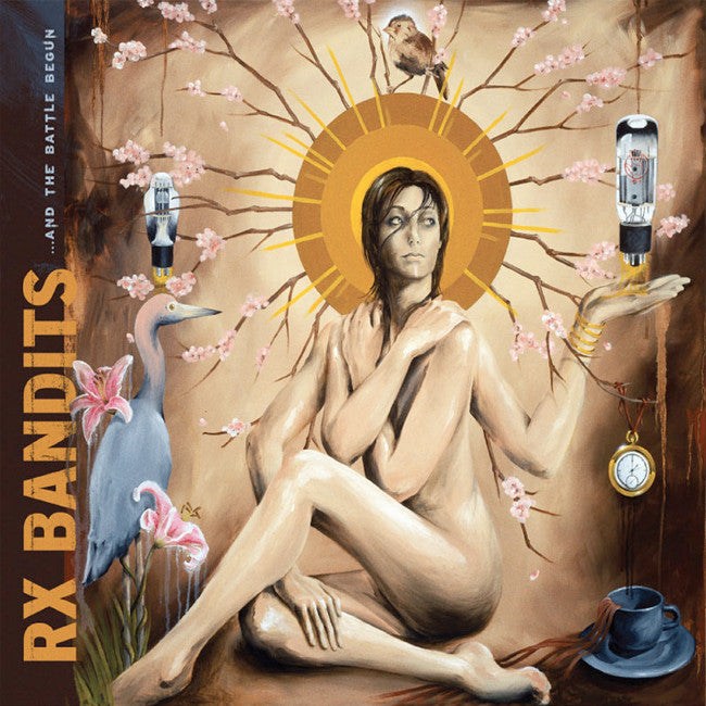 ...And The Battle Begun CD - RX Bandits (SH) - Hello Merch