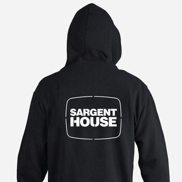 SH Logo Zip Hood by Sargent House for sale on hellomerch.com