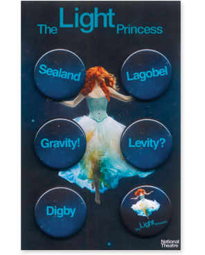 The Light Princess Button Pack by Tori Amos for sale on hellomerch.com