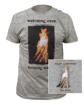 Night Of Hunters Heather Grey T-Shirt by Tori Amos for sale on hellomerch.com