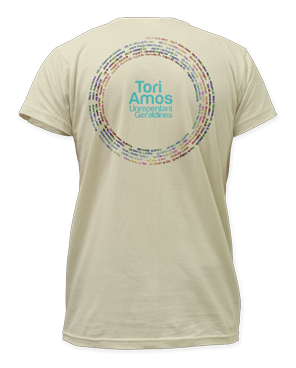 2014 Tour Cream T-Shirt - Tori Amos - Hello Merch