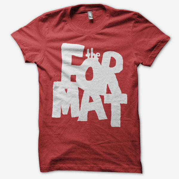 Big Red T-Shirt by The Format for sale on hellomerch.com