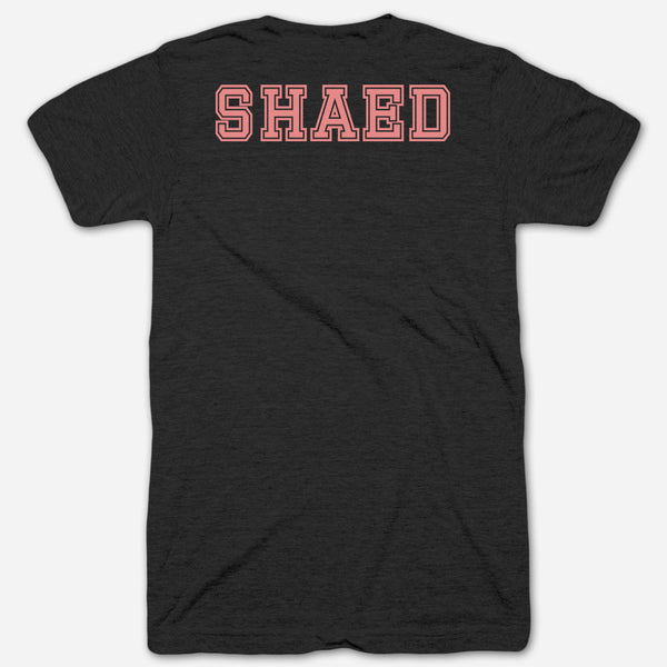 SHAED Tee Pink by SHAED for sale on hellomerch.com